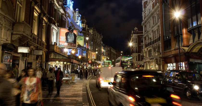 London's West End  © Andy Bird/Flickr