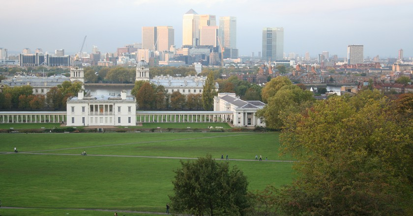 Greenwich park ©Jon Bennett