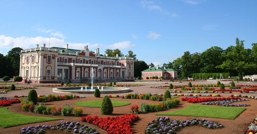 Kadriorg Palace in Tallinn, Estonia   © Eesti.pl/Flickr