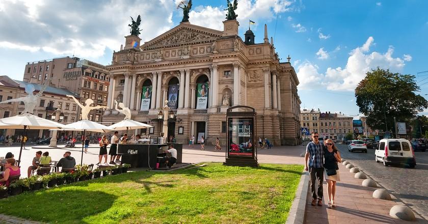 Lviv Opera | © SofiLayla/ Pixabay
