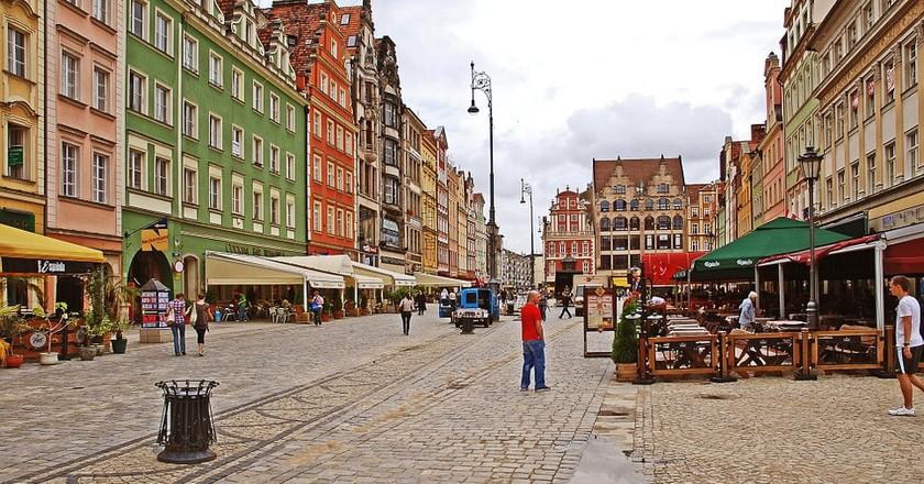 Wrocław    © uroburos / pixabay