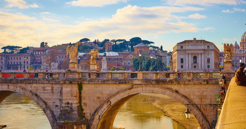 Rome, Tevere river © Moyan Brenn