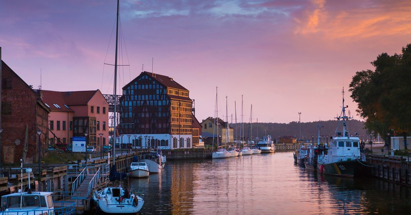 Klaipeda at sunset | ©PROSlGN/Shutterstock