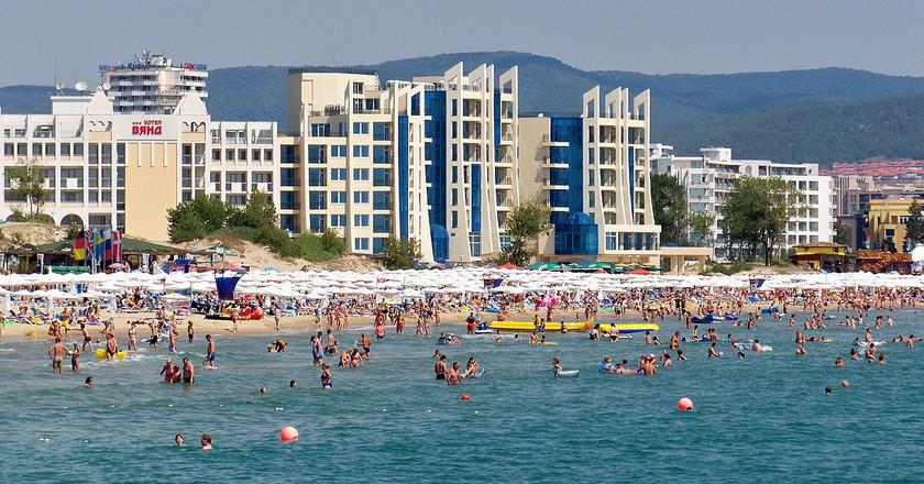 Sunny Beach   © www.vacacionesbulgaria.com/WikiCommons