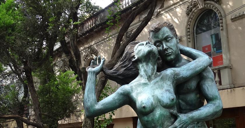 Sculpture in Zona Rosa, Mexico City |© Adam Jones/Flickr