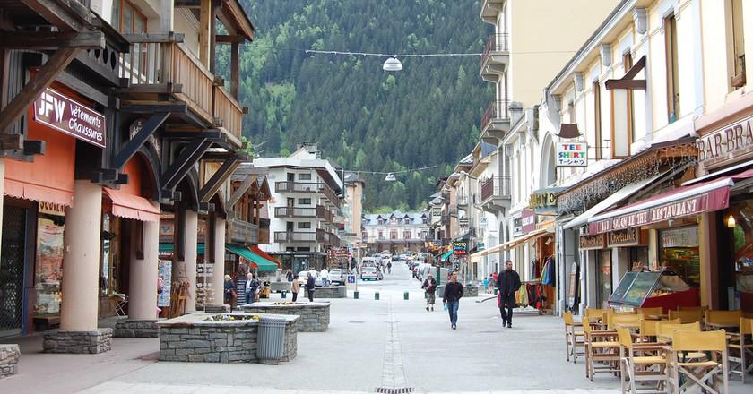 Streets of Chamonix |© edwin.11/Flickr