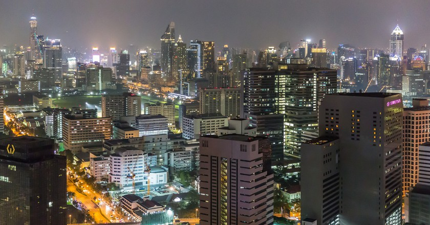Gleaming skyscrapers of Silom, Bangkok | © Ninara / Flickr