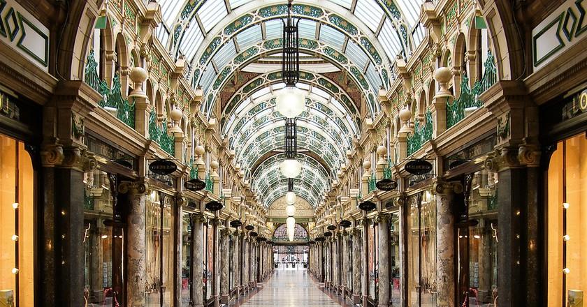 The Ridonkolously Expensive Queens Arcade, Leeds © Rob Ellis