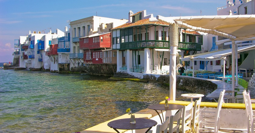 Little Venice, Mykonos | © Julia Maudlin / Flickr