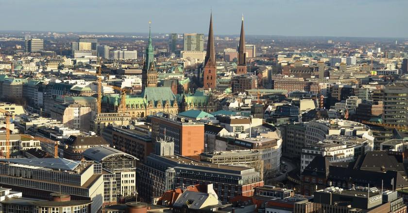 Hanburg from above   ©Pedro/Flickr