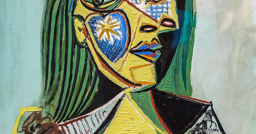 Pablo Picasso, Woman in Hat and Fur Collar, 1937 | © Edgardo W. Olivera/Flickr