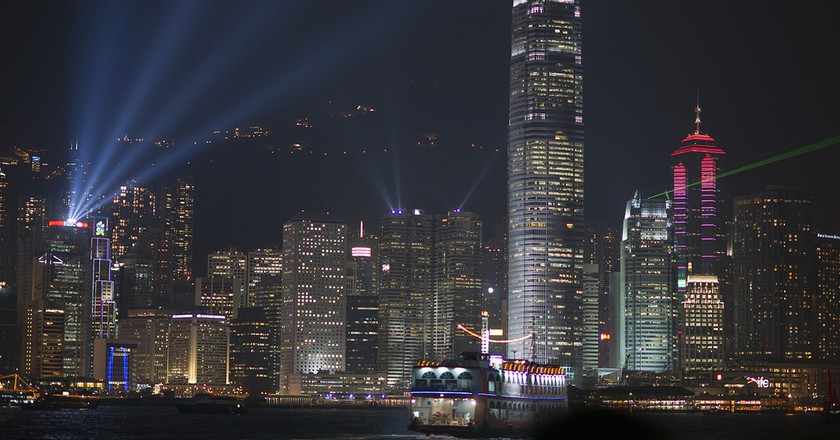 Hong Kong Lazer Show | © Barbara Willi/Flickr