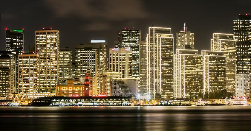 San Francisco Skyline   ©  Rex Boggs/Flickr