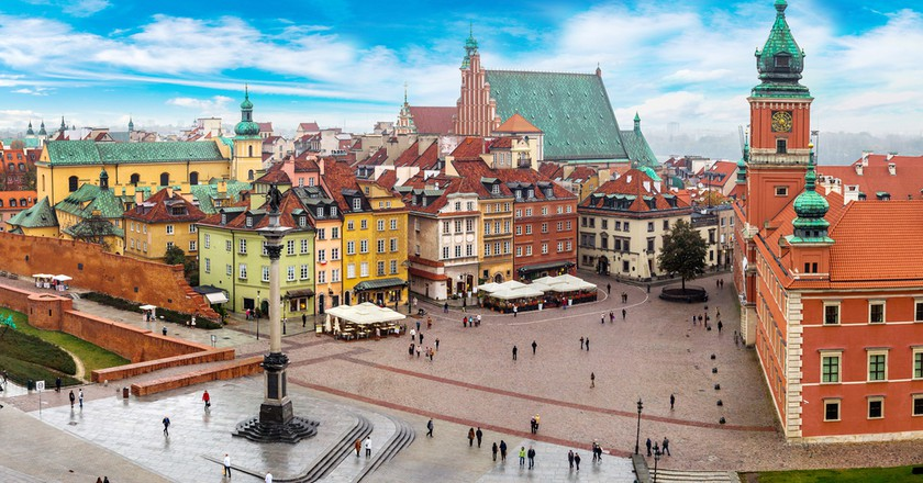 Panoramic view of Warsaw on a summers day   © S-F/Shutterstock