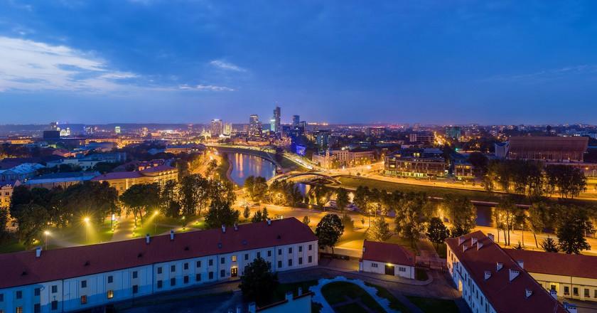 Vilnius Skyline   © David Iliff / Wikimedia Commons