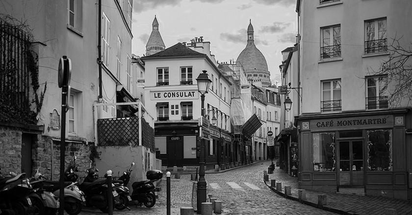 Cafés, Montmartre   © Di_Chap/Flickr