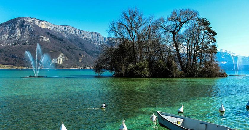 Lac d'Annecy, France I © Manu Dreuil/Flickr