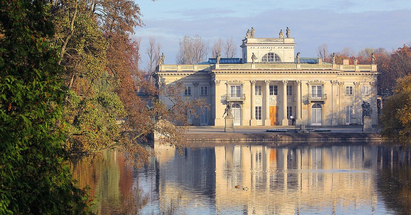 The Palace on the Isle in the Łazienki Królewskie Park | © Ministry of Foreign Affairs of the Republic of Poland/Flickr