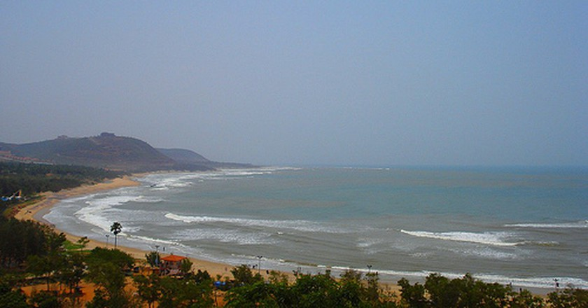 Rishikonda beach, Vizag   © Sareeta/Flickr