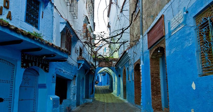Chefchaouen Street I © Mark Fischer/Flickr