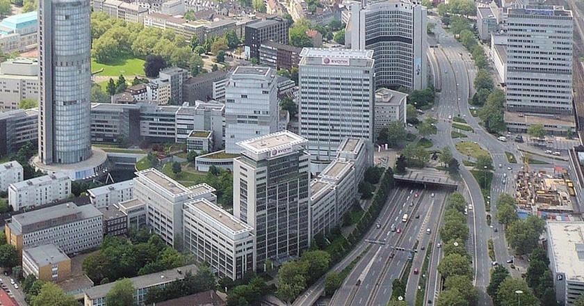 Essen-Südviertel, Blick von Osten | © Wiki05/WikiCommons
