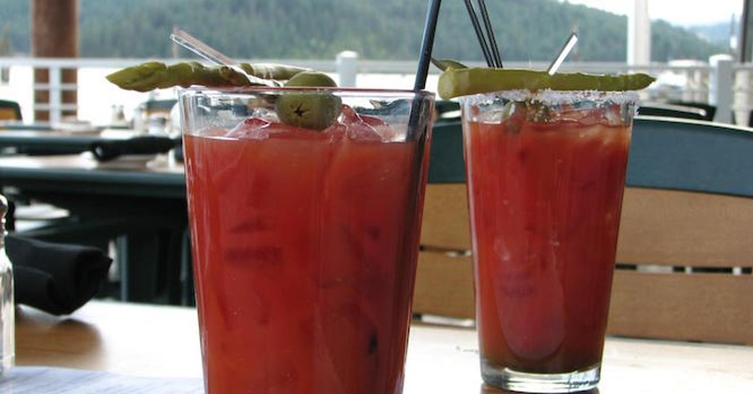 bloody mary on the dock l ©  Karyn Christner/Flickr