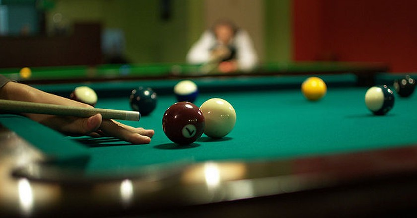 Billiards and snookers   © Derbeth/Wikicommons