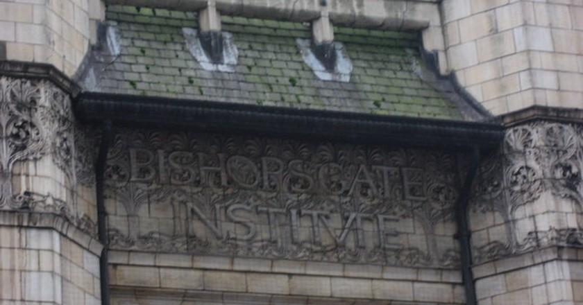 Bishopsgate Institute   © Mike Quinn