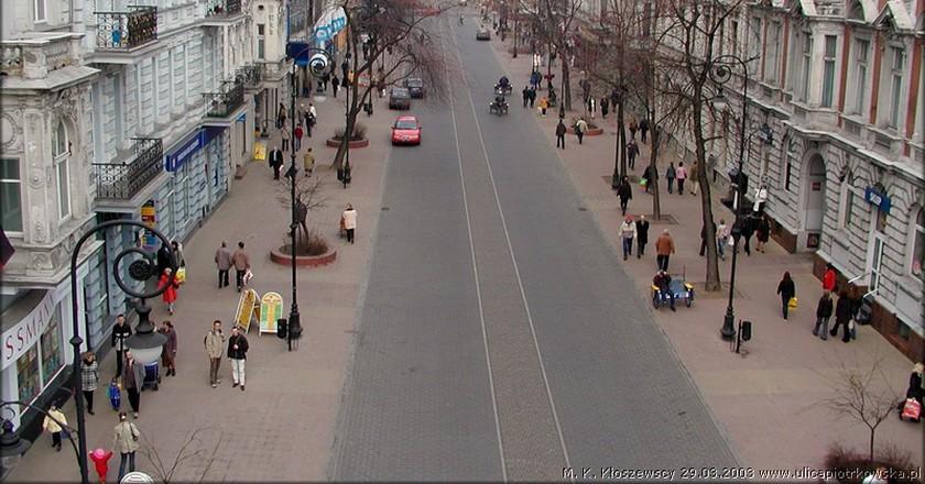 Lodz - ul. Piotrkowska   © Konrad Kłoszewski/WikiCommons