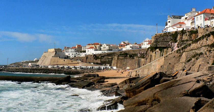 Sea front, Ericeira©Paulo Juntas, Wikicommons