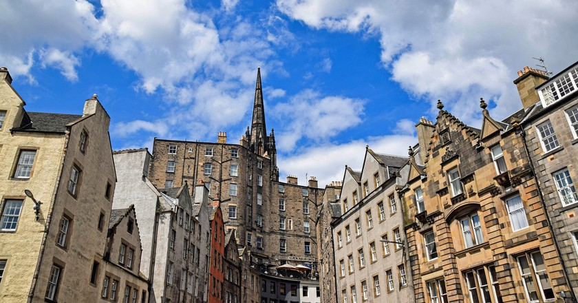 The city of Edinburgh/ ©Pixabay