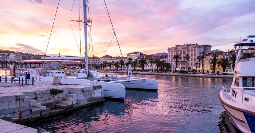 Split is the second-largest city of Croatia. ©Taromon / Shutterstock