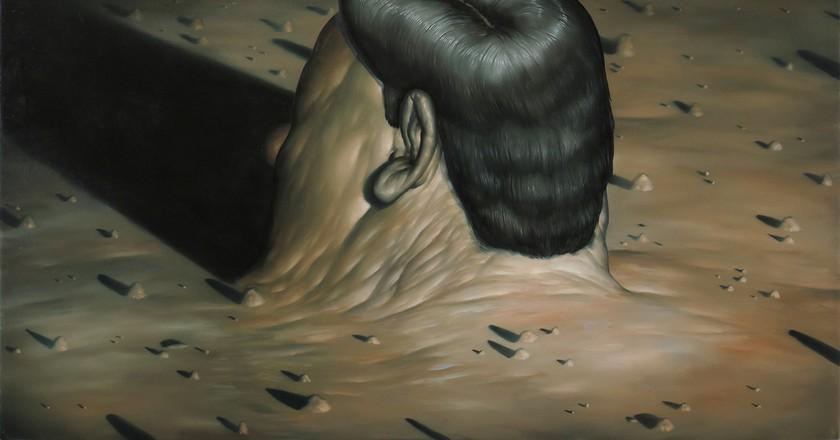 Landscape With A Head   © Seth Alverson