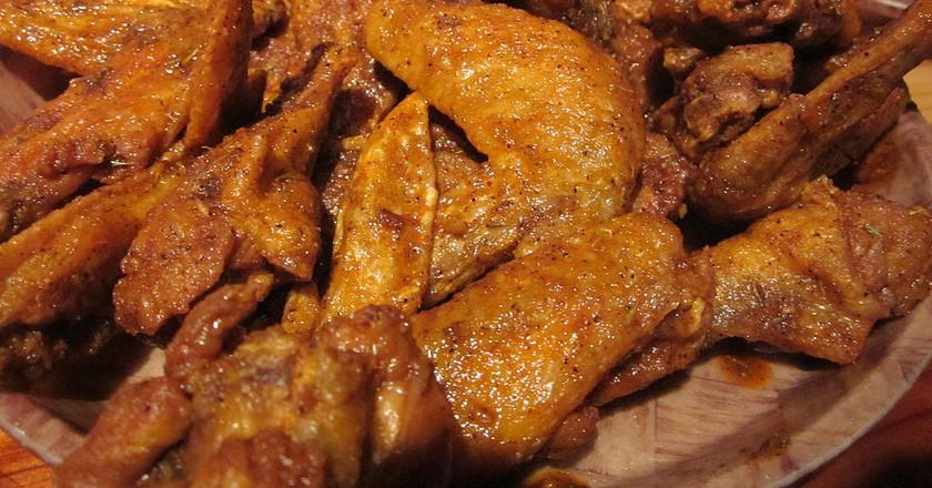 Cajun chicken wings | © BrokenSphere/WikimediaCommons