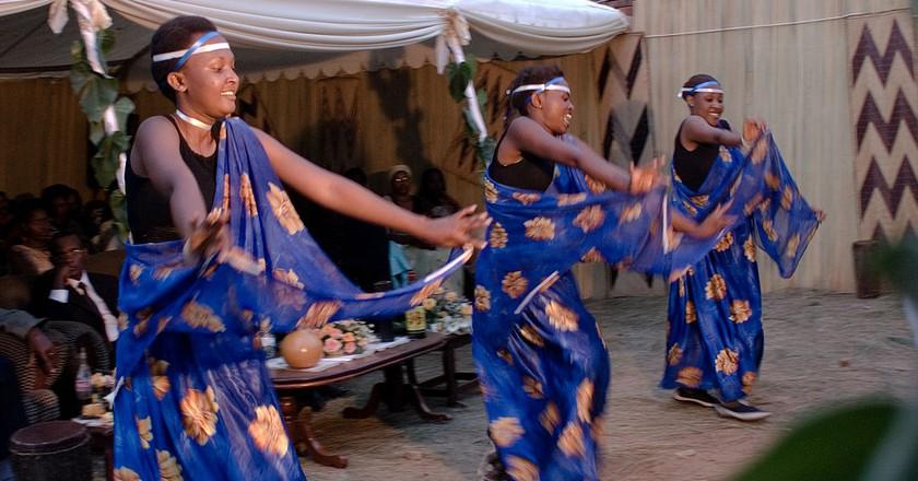 Rwandan dancers | © Fanny Schertzer/Wikimedia Commons