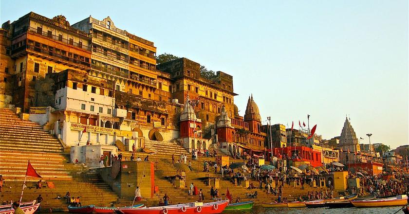 Varanasi / © Ken Wieland, WikiCommons