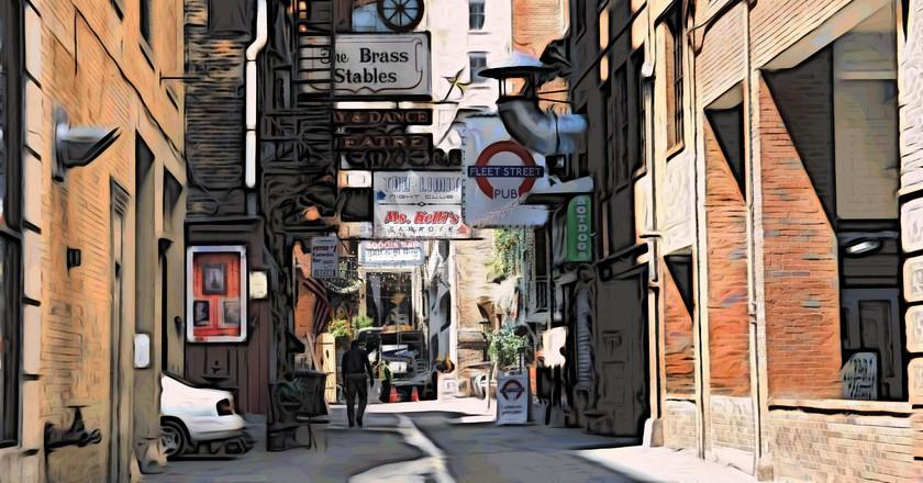 Printer's Alley © Ben Spalding/ Flickr