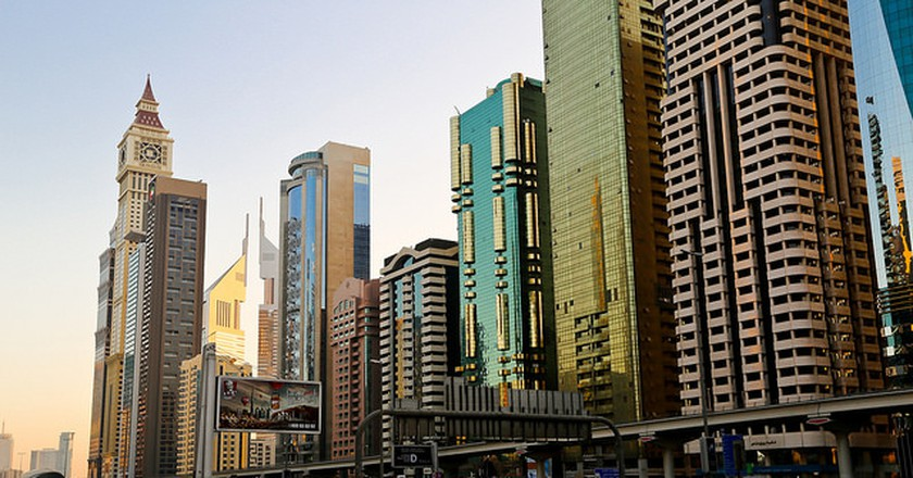 Sheikh Zayed Road  [ © Y Nakanishi Flickr ]
