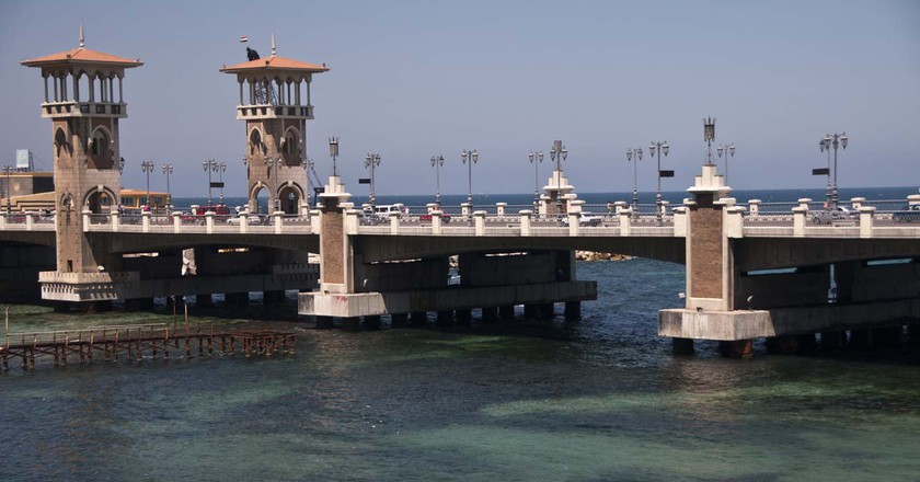 San Stefano Bridge, Alexandria  | ©  Nadia Ismail / Flickr