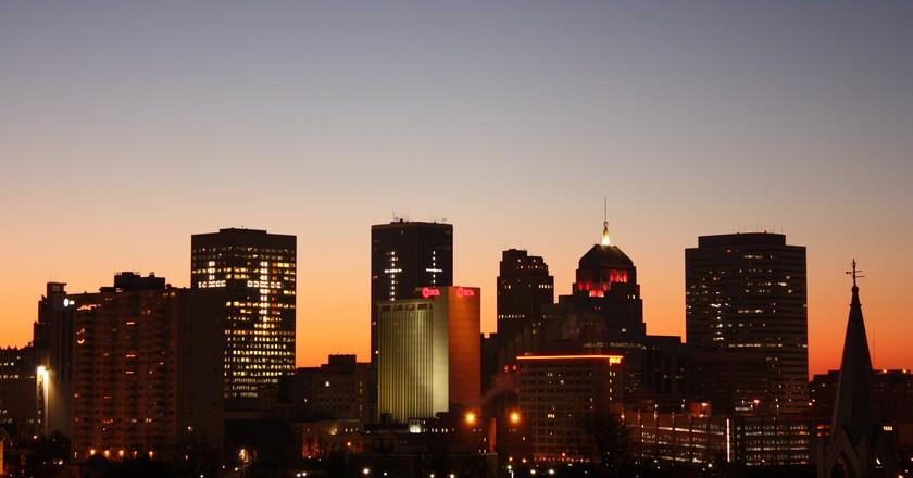 OKC Skyline | ©Flickr/Paul L. McCord Jr.