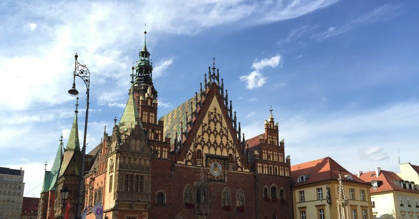 Wroclaw - Hôtel de Ville © Eric Paradis/Flickr
