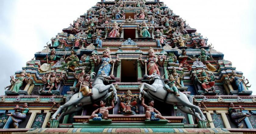 Sri Mahamariamman Temple | © Geof Wilson/Flickr