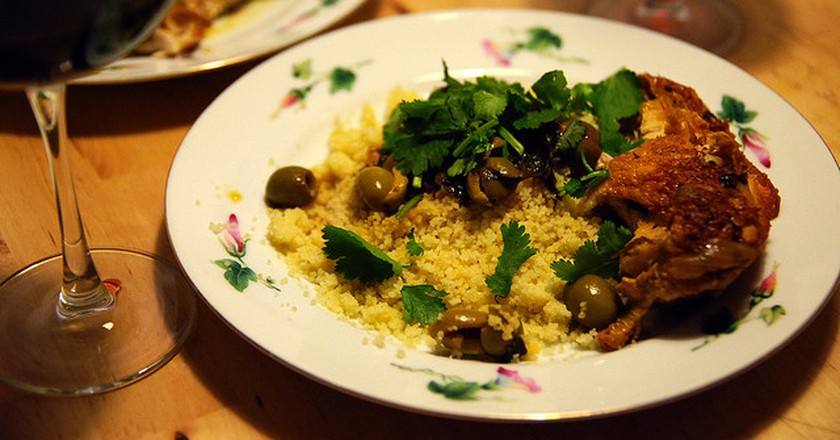 Chicken Tagine with Olives © Pete Jelliffe/Flickr