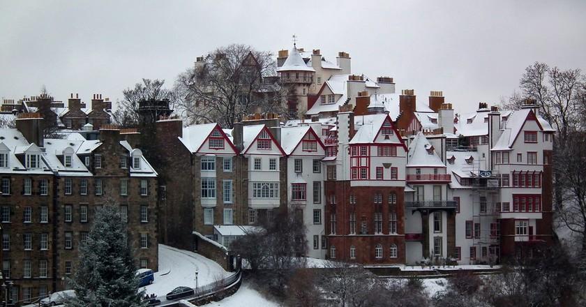 Christmas in Edinburgh | ©Dominic Wade/Flickr