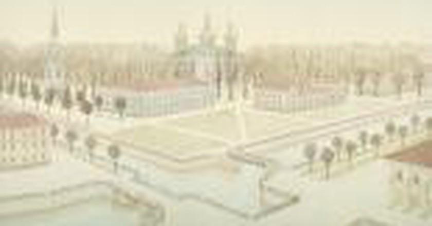 Valery Valran's Mysterious St. Petersburg at Erarta Gallery London