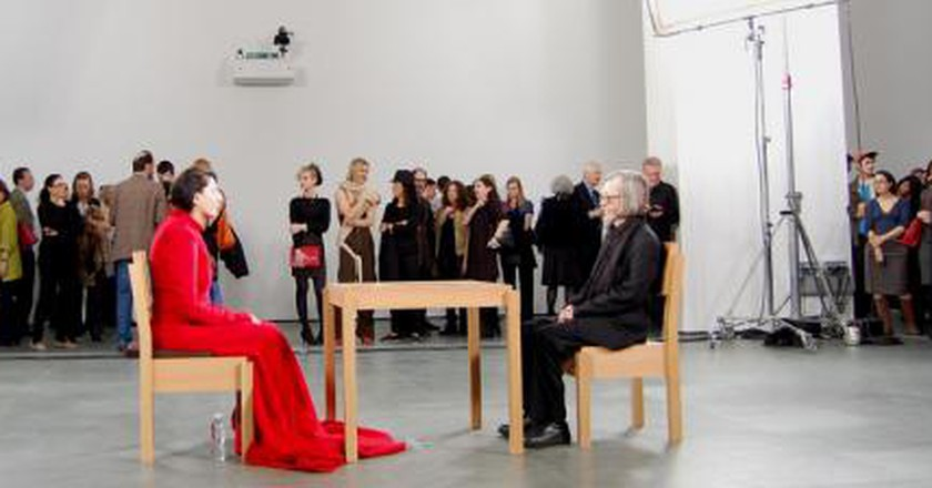 Marina abramovi the artist is present and overwhelmingly so altavistaventures Image collections