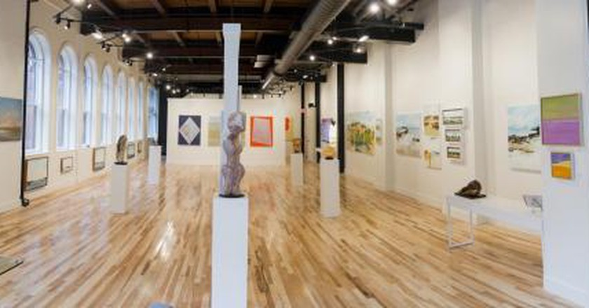 The Best Art Galleries In Downtown Portland, Maine