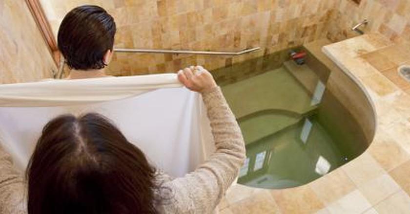 A Brief History Of Mikveh Pool