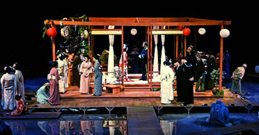 Puccini's Madam Butterfly Returns To The Royal Albert Hall