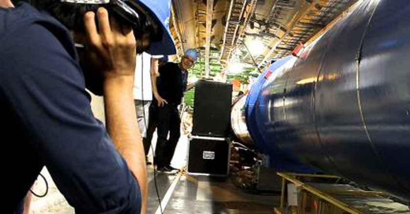 CERN: Where Art, Design And Particle Physics Become One